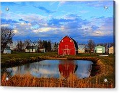 Pondside Farms Acrylic Print