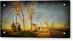 Ponidzie Acrylic Print by Anna Gora