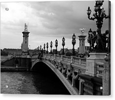 Acrylic Print featuring the photograph Pont Alexander by Lisa Parrish
