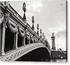 Pont Alexandre IIi Acrylic Print