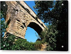 Pont Du Gard Acrylic Print by Carrie Warlaumont