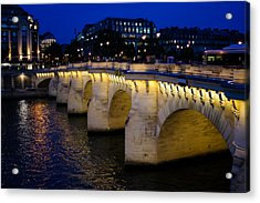 Pont Neuf Bridge - Paris - France Acrylic Print