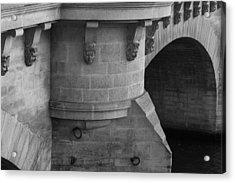 Pont Neuf Acrylic Print by Glenn DiPaola