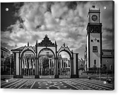 Ponta Delgada Gates Acrylic Print