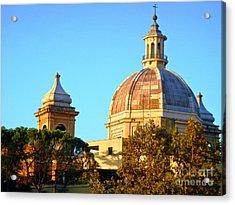Ponte Milvio Roma Acrylic Print