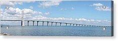 Ponte Vasco Da Gama Lisbon X083 Acrylic Print