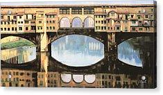 Ponte Vecchio A Firenze Acrylic Print