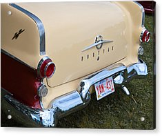 Acrylic Print featuring the photograph Pontiac Classic Car by Mick Flynn