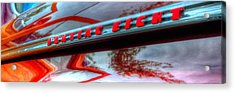 Pontiac Eight 14714 Acrylic Print