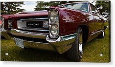 Acrylic Print featuring the photograph Pontiac Grande Parisienne by Mick Flynn