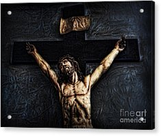 Pontius Pilate's Punishment - Crowned With Thorns Acrylic Print by Lee Dos Santos