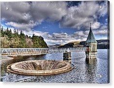 Pontsticill Reservoir 2 Acrylic Print by Steve Purnell