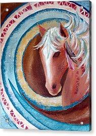 Pony Dreamer Acrylic Print by Chris Morningforest