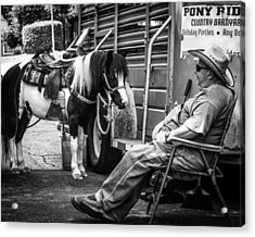 Pony Ride Acrylic Print