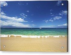 Poolenalena Beach Park Acrylic Print by Kicka Witte