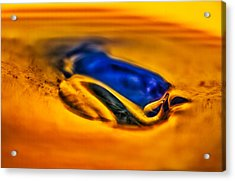 Pools Of Color Acrylic Print by Omaste Witkowski