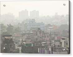 Poor Air Quality And Pollution Acrylic Print