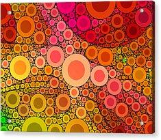 Pop-04-b Acrylic Print by RochVanh