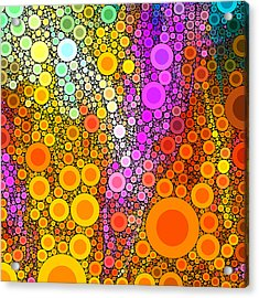 Pop-10-a Acrylic Print by RochVanh