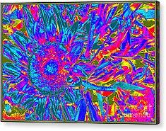 Pop Art Blossoms Acrylic Print by Dora Sofia Caputo Photographic Art and Design