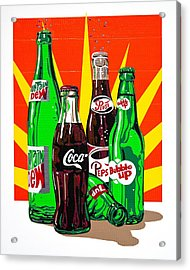 Pop Art Acrylic Print by Neil Garrison