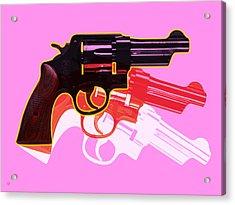 Pop Handgun Acrylic Print