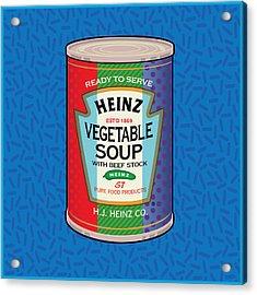 Pop Vegetable Soup Acrylic Print