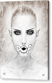 POP Acrylic Print by Yosi Cupano