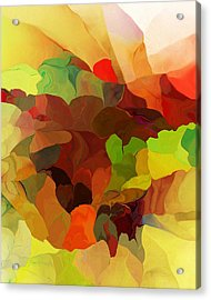 Acrylic Print featuring the digital art Popago by David Lane