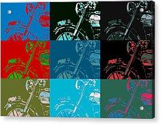 Popart Motorbike Acrylic Print