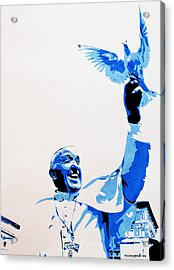 Pope Francis Acrylic Print