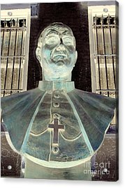 Pope John Paul The Second Acrylic Print by Ed Weidman