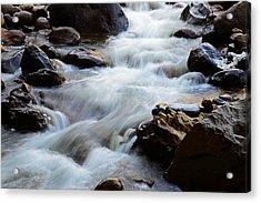 Popo Agie Flow Acrylic Print