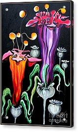 Poppies Fantasy.. Acrylic Print