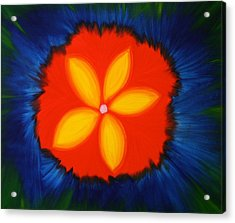 Poppy Place Acrylic Print