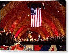 Acrylic Print featuring the photograph Pops Finale by Barbara McDevitt