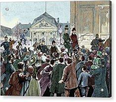 Popular Ovation To The Prince Bismarck Acrylic Print by Prisma Archivo