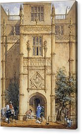 Porch At Montacute, 1842 Acrylic Print