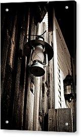 Porch Lantern Acrylic Print by Swift Family