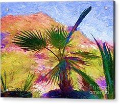 Porche De Palma Acrylic Print