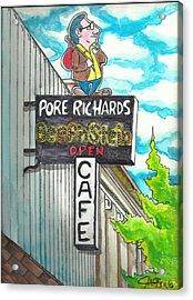 Pore Richards Acrylic Print
