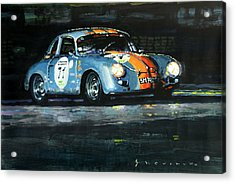 Porsche 356 A 1959 Le Mans Classic 2010 Acrylic Print