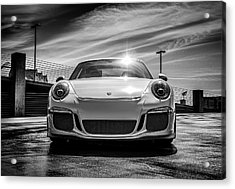 Acrylic Print featuring the digital art Porsche 911 Gt3 by Douglas Pittman