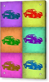 Porsche 911 Pop Art 2 Acrylic Print by Naxart Studio