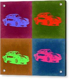 Porsche 911 Pop Art 3 Acrylic Print by Naxart Studio