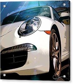 Porsche 911 Acrylic Print by Robert Smith