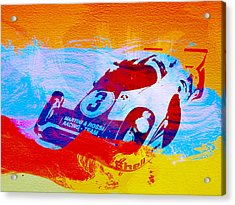 Porsche 917 Martini And Rossi Acrylic Print