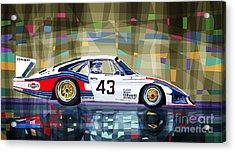 Porsche 935 Coupe Moby Dick Acrylic Print