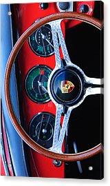 Porsche Custom Iphone Case 2 Acrylic Print by Jill Reger
