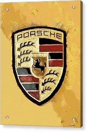 Porsche Heritage Acrylic Print